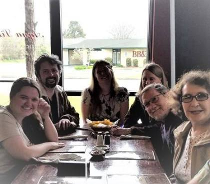 Friends in the Athens Writers Association